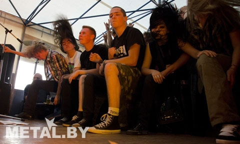 Металлисты на концерте Disane