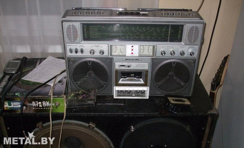 Магнитофон для записи джем-сессий
