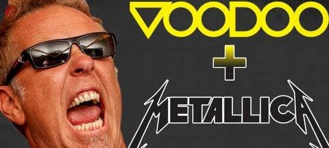 Metallica на Voodoo Music + Arts Experience