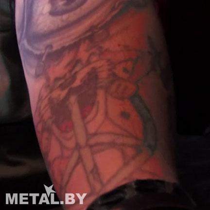 Татуировка, которую Макс Кавалера сделал пьяным