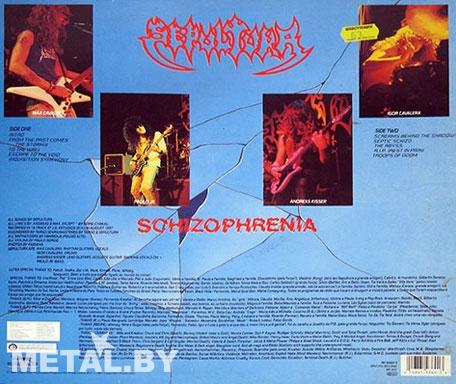 Sepultura Schizophrenia